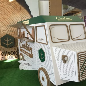 NIDOKRAFT CPRINT 2016 Food truck cartón